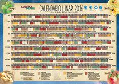 Calendario Lunar Julio 2016 Colombia