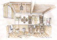 Интерьеры шале, эскизные проекты. Pergola, Outdoor Structures, House, Ideas, Chalets, Home, Outdoor Pergola, Thoughts, Homes