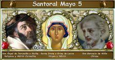 Vidas Santas: Santoral Mayo 5