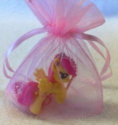 My Little Pony Pendant Necklace in Gift Bag by Sillysockmonkeys, $6.50