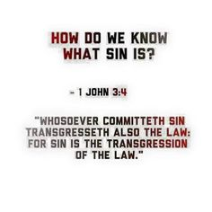 Sin is breaking the law, plain and simple.. so you repent for breaking Gods law & to keep away from sin.. You obey the Law.