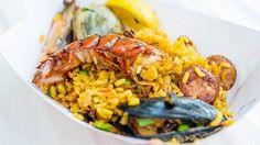 Antipasto: Paella mista di carne e pesce Sorbetto limone dolce Catalana Caffè € 15,00 Bevande escluse Patatine e Pizza a volontà Con Bibbita € 10,00