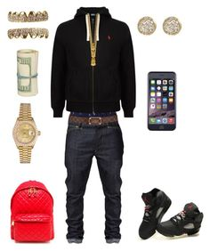 """((School Flow)) ~King Savage"" by leonar-287 ❤ liked on Polyvore featuring interior, interiors, interior design, home, home decor, interior decorating, Polo Ralph Lauren, Louis Vuitton, Rolex and Mister"