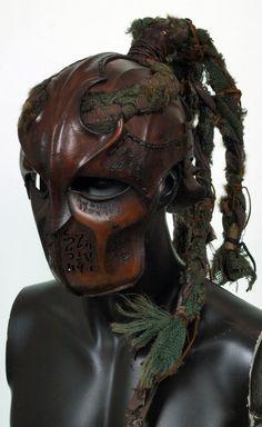 Wood elf Helmet by Valimaa.deviantart.com on @deviantART