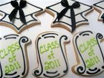graduation cookies....Ruth you know I am going to ask you to make these~ LOL!