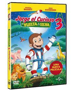 DVD Jorge el curioso 3. De vuelta a la selva