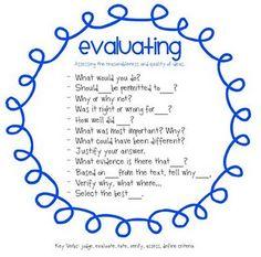 Marzano's 7 thinking skills