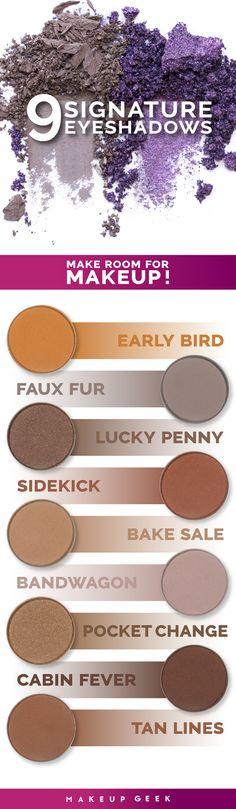 A look at Makeup Geek's neutral newbies! #makeupgeekcosmetics