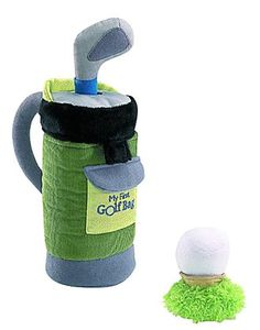 Baby's first golf set!!! Out baby girl needs it!!