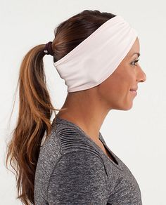 Lululemon's Brisk Run Headband, $26. Wintertime must. Just can't decide on color...