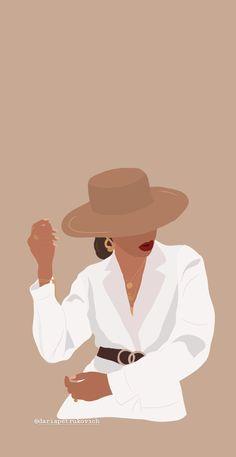 Black Girl Art, Black Women Art, Art Girl, Girl Cartoon, Cartoon Art, Arte Fashion, Black Art Painting, Illustration Mode, Afro Art