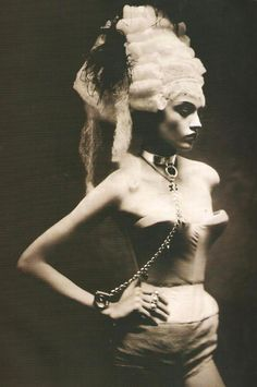 Sasha Pivovarova photographed by Paolo Roversi - Vogue Italia Supplement: March 2005  (via: swanqueen)