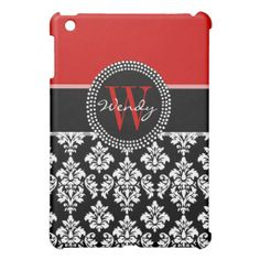 $$$ This is great for          Black Damask iPAD MINI Case Monogram Initial RED           Black Damask iPAD MINI Case Monogram Initial RED lowest price for you. In addition you can compare price with another store and read helpful reviews. BuyDiscount Deals          Black Damask iPAD MINI C...Cleck Hot Deals >>> http://www.zazzle.com/black_damask_ipad_mini_case_monogram_initial_red-256514692895898870?rf=238627982471231924&zbar=1&tc=terrest
