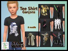 Tee shirt Star Wars 8 motifs - Luna Sims