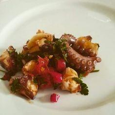 Salade van polpo (octopus)