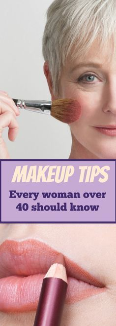 Make up in our is easy. We can slap on anything and still feel and look good. In our is when we need to pay more attention to skincare and also use a few makeup tricks to help us look our best./makeup tips/ Cute Makeup, Simple Makeup, Natural Makeup, Makeup Looks, Beauty Makeup, Organic Makeup, Natural Face, Perfect Makeup, Gorgeous Makeup