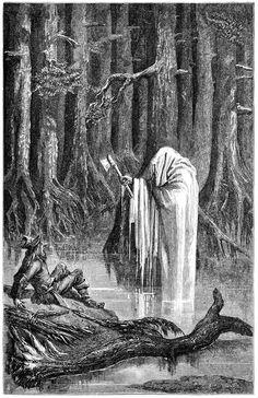 "ubeink: ""Ernest Griset. ""Mercury and the Woodman."" c.1844-1907. [x] """