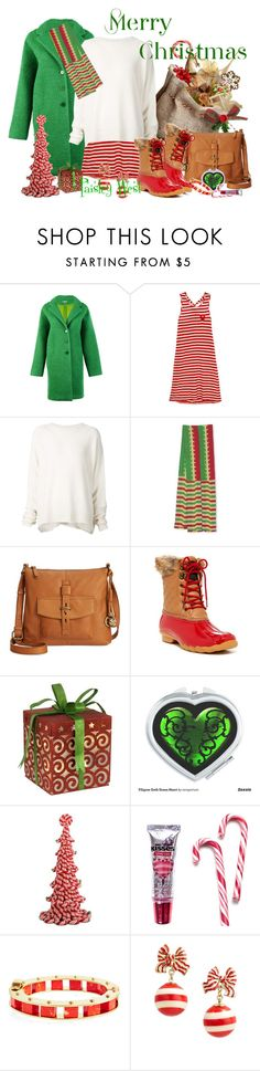 """""""Shopstyle Alumni: Festive Fashion-Candy Cane"""" by paisleywest ❤ liked on Polyvore featuring P.A.R.O.S.H., Sonia by Sonia Rykiel, URBAN ZEN, NOVICA, Lucky Brand, Arctic Plunge, Byers' Choice, Hershey's, Lele Sadoughi and Kate Spade"""