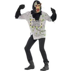 Costume homme singe mutant