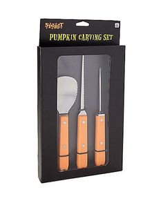 Durable Pumpkin Carving Tool Kit - Spirithalloween.com