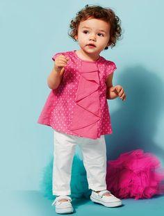 süßes Babyset in Weiß Pink!