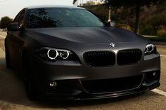 Matte BMW.