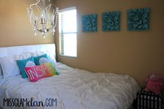 #Bedroom #Decor this would be great for a teen girls room. :)
