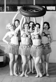 1933 publicity shot for the Frank Dillon Tire Co.  Source: USC Digital Library.