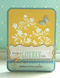 birthday wishes card  by Parmentier.