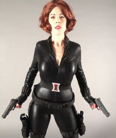 Mark Montano: BLACK WIDOW COSTUME DIY!