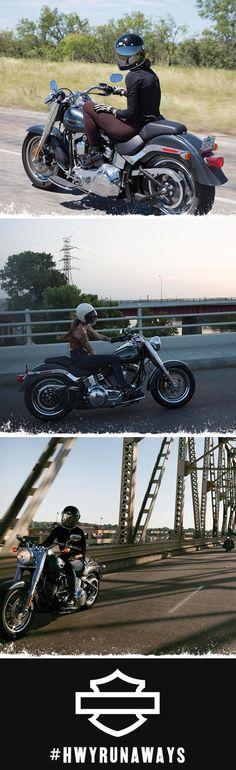#hwyrunaways Harley Davidson Ad 18