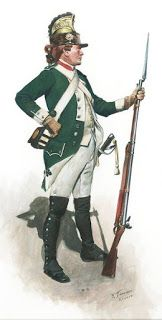 Belsunce Dragoons French private,  (21st Regiment ) 1779, as they appeared during the siege of Savannah Don Troiani