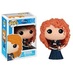 New Funko Pop! Disney/Pixar Toys: Merida