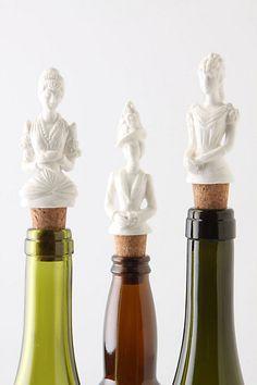 Hofdame Bottle Stoppers from Anthropologie.