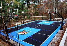 Residential Multi Sports Zone · Backyard Basketball CourtBasketball ...