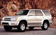 (Silver Toyota Four Runner) Song: BBC