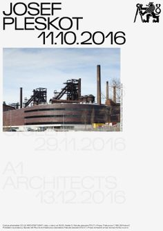 "mareknedelka: ""What is architecture, first poster for the lecture series, 2016 """