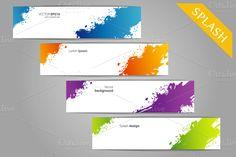 Color splash designs ~ Web Elements on Creative Market