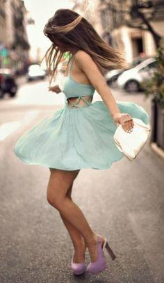 #street #style cutout dress @wachabuy
