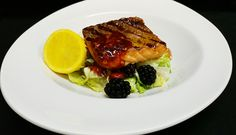 FISH OF THE DAY With side salad Side Salad, Steak, Food And Drink, Fish, Steaks