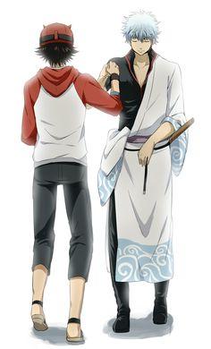 Sket Dance and Gintama crossover Manga Anime, Anime Rules, Anime Group, Comedy Anime, Anime Crossover, Japanese Outfits, Anime Comics, Me Me Me Anime