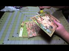 Scrapbook gate mini-album