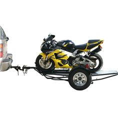 Folding dual rail or 3 rail motorcycle trailer drop the price kendon stand up motorcycle trailer 1000 lb capacity cheapraybanclubmaster Gallery