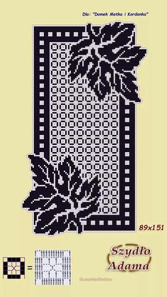 Crochet And Arts: Filet Crochet Wipes Crochet Table Runner Pattern, Crochet Doily Patterns, Crochet Doilies, Crochet Motif, Filet Crochet Charts, Knitting Charts, Crochet Curtains, Tapestry Crochet, Crochet Cushion Cover