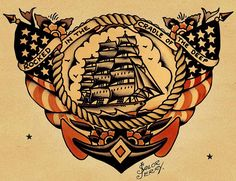 Sailor Jerry was tagged with the name Norman Collins at birth, but he began to distance himself from normalcy when he was 19 (that's why he became a sailor). He traveled around the world, not only getting his first tattoos, but also gaining exposure to the art and imagery of Southeast Asia. This later became a crucial influence when he opened his first tattoo shop in Honolulu's Chinatown, ground zero for swaggering sailors, drunken soldiers and whoever else wasn't afraid to hang around…
