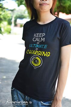 OVERWATCH Keep calm my ultimate is charging t-shirt - can choose V neck