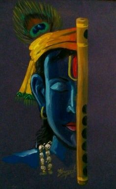 Wallpaper-world: Kanha photo Lord Shiva Painting, Ganesha Painting, Buddha Painting, Ganesha Art, Mural Painting, Oil Pastel Art, Oil Pastel Drawings, Art Drawings, Krishna Pictures