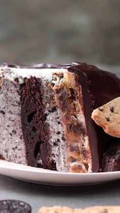 Brilliant Kitchen Hacks Genius food hacks for kitchen mastery. Easy Cake Recipes, Snack Recipes, Dessert Recipes, Recipes Dinner, Baking Recipes, Healthy Recipes, New Cake, Mini Foods, Food Cakes