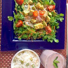 OMさんの料理 Salad of cilantro