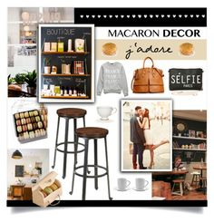 """""""Macaron Decor"""" by rosalie45 ❤ liked on Polyvore featuring interior, interiors, interior design, home, home decor, interior decorating, Torrid, Dooney & Bourke, Forever 21 and Jura"""